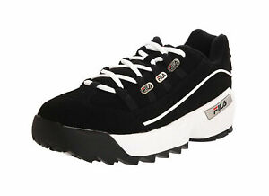Details about Fila Men's Hometown Extra Casual Shoe FW02752-014 -  Black/White