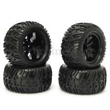 4PCS Wheel Rim & Tires Redcat For HSP 1:10 Monster truck RC Car 12mm Hub