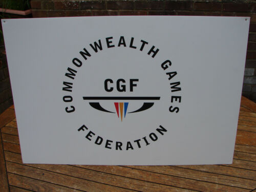 Commonwealth Games Glasgow 2014 Sign Federation Wall Art Global Shipping