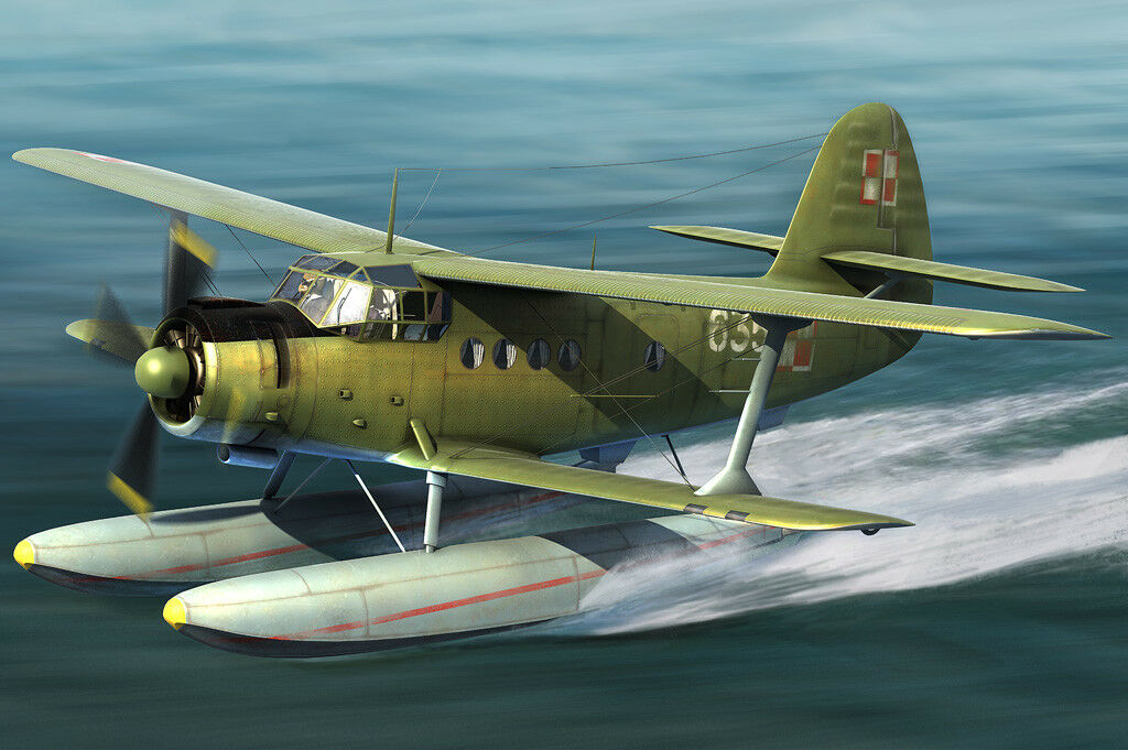 Hobby Boss 81706 1 48 Scale Russia An-2W Colt Carrier Transport Aircraft Plastic