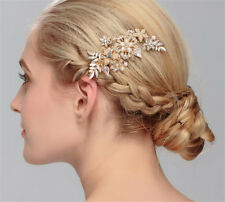 Wedding Bridal Freshwater Pearl Hair Accessories Clips Headpieces Tiara Jewelry