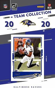 2020-Panini-Football-Baltimore-Ravens-Team-Set-11-Cards-W-Drafted-Rookie