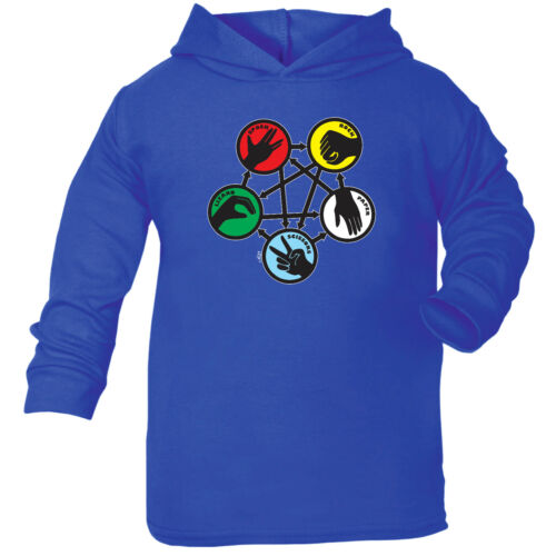 Funny Baby Infants Cotton Hoodie Hoody Rock Spock Colour