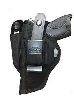 Taurus Pt-809 Compact   Nylon Gun Owb Outside Open Carry Hip Belt Holster