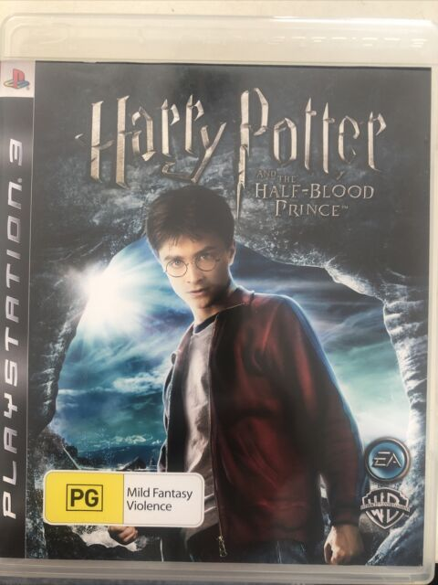 Harry Potter and the Half-Blood Prince PS3 COMPLETE With Manual PAL + FREE POST