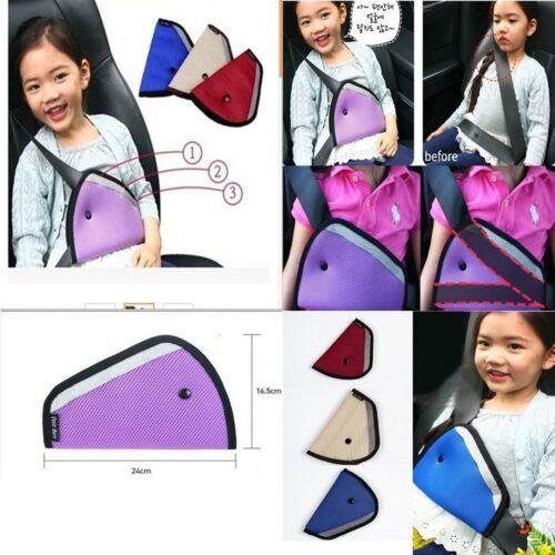 Regulator Safety Car Protector Strip Children Kids Seat Belts Mesh Triangle