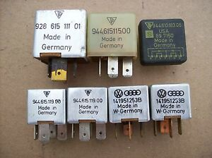 porsche 944 turbo fuse box relay set ebay