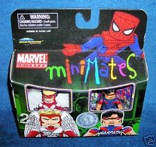 MARVEL MINIMATES WARPATH ANGEL X MEN FORCE UNIVERSE LEGENDS VARIANT TRU RARE HTF