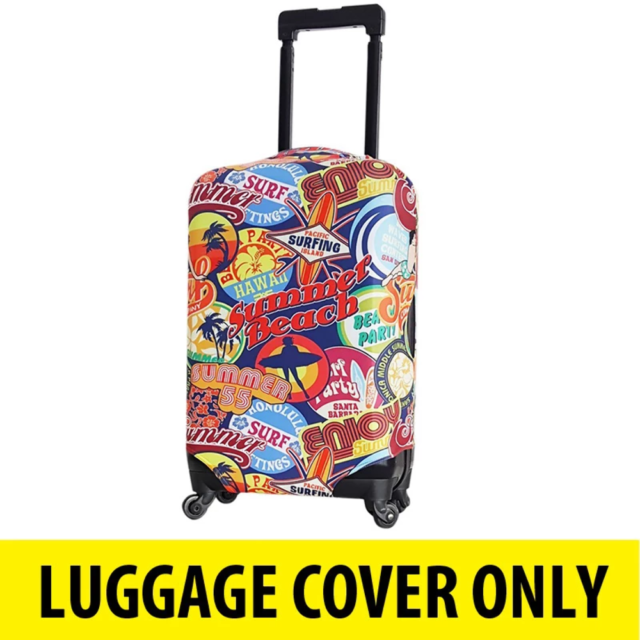 Aus Luggage - Luggage Cover Summer Beach - Large