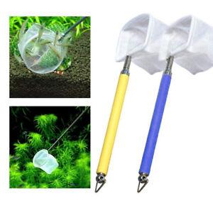 Fish-Shrimp-Skimming-Net-Fine-Mesh-Extendable-Stainless-Steel-Handle-Fishing-Net