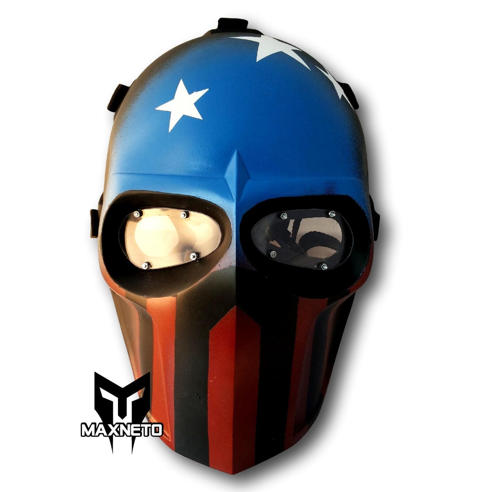 Soporte inferior maxneto Táctico de Paintball Airsoft Pistola Equipo De Projoección Casco MásCochea Capitán
