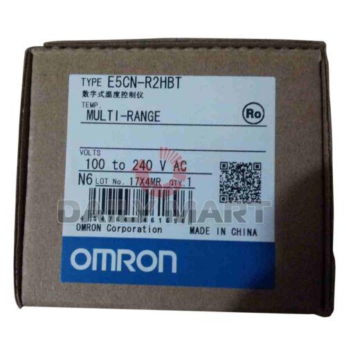 Omron E5CN-R2HBT 100-240VAC BASIC TYPE TEMPERATURE CONTROLLER DIGITAL 1//16 DIN
