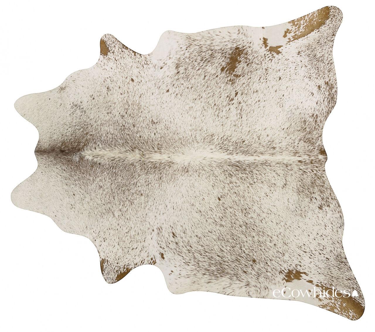 Salt and Pepper Marronee Brazilian Cowhide Rug Cow Hide Area Rugs