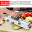 Professional-Vegetable-Fruit-Cutter-Grater-Adjustable-Safety-Home-Kitchen-Tool miniatura 3