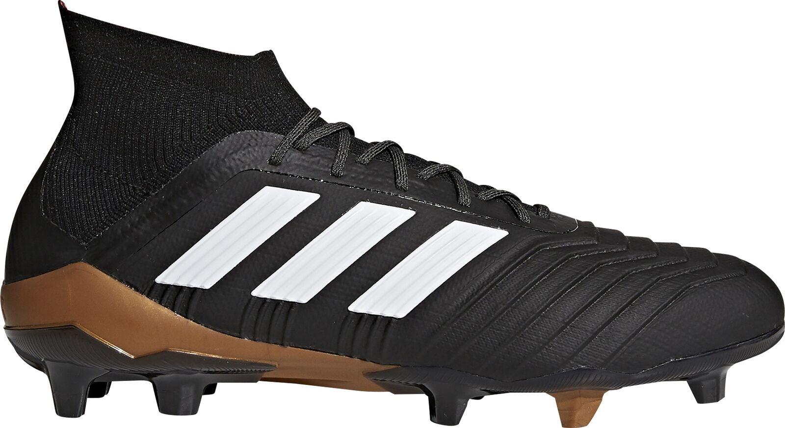 Adidas Projoator 18.1 tierra firme para Hombre botas De Fútbol-Negro