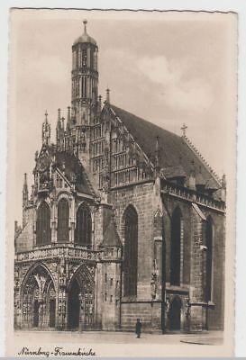 (65811) Foto Ak Nürnberg, Frauenkirche, Vor 1945