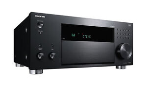 Onkyo TX-RZ810 SCHWARZ 7.2-Kanal AV Netzwerk Receiver THX* TX RZ 810 *NEU* TX-RZ