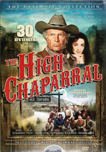 The-High-Chaparral-Complete-Collection-NEW-PAL-Series-30-DVD-Set-Leif-Erickson