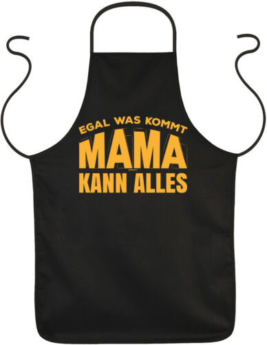 Mama Sprüche Schürze Geschenk Grillschürze Geburtstag Kochschürze Mutter