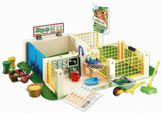 Playmobil 6425 - Centre de soins pour animaux - Emballage plastique pas boite