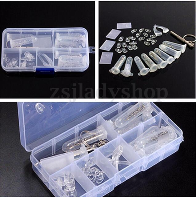 Set of Eyeglasses Glasses Screwdriver Screw Nut Nose Pad Optical Repair Tool Kit