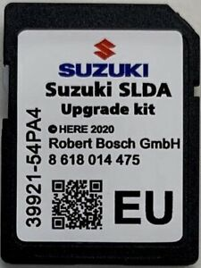 2019 Suzuki SLDA Bosch NAV SD Card Karte sx4 S-Cross//Vitara//Swift//Baleno//Ignis