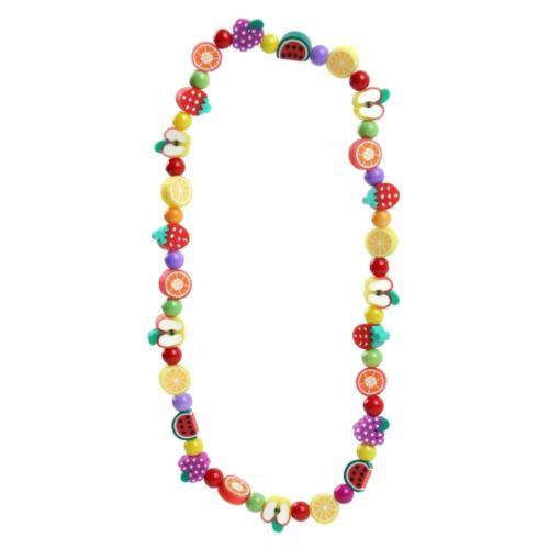 Children/'s Funky Fimo Tutti Frutti Elasticated Necklace Pendant by Joe Cool