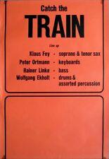 TRAIN - Tourplakat - 60er Jahre - Jazz - Concert - Catch... - Tourposter - Oran