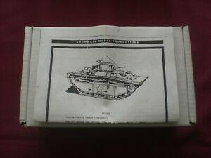 Niv. (1) 1 Véhicule de débarquement à chenilles (blindé) -1 - Modèle Scala 1/35 Cromwell