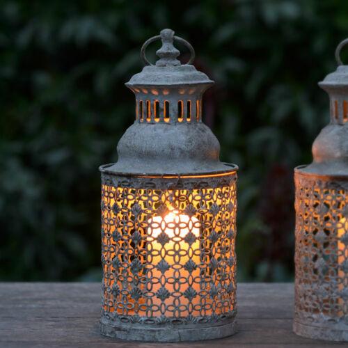 Vintage Style  Spanish Lattice Garden Candle Lantern For Home Patio 30cm