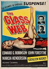 The Glass Web (Film Noir 1953) Edward G. Robinson, John Forsythe.