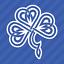 Celtic Knot Irish Shamrock Clover Vinyl Decal Sticker