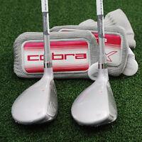Cobra Golf Max Os Offset Hybrid 6h & 7h Rescue Set - Graphite Ladies -