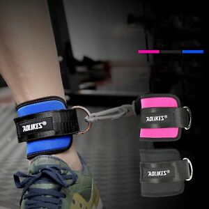 AOLIKES-Ankle-Strap-D-ring-Thigh-Leg-Pulley-Gym-Weight-Lifting-Cable-Attachment