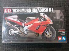 TAMIYA 1/12 Yoshimura Hayabusa X-1 Motorcycle Model Kit - 14093