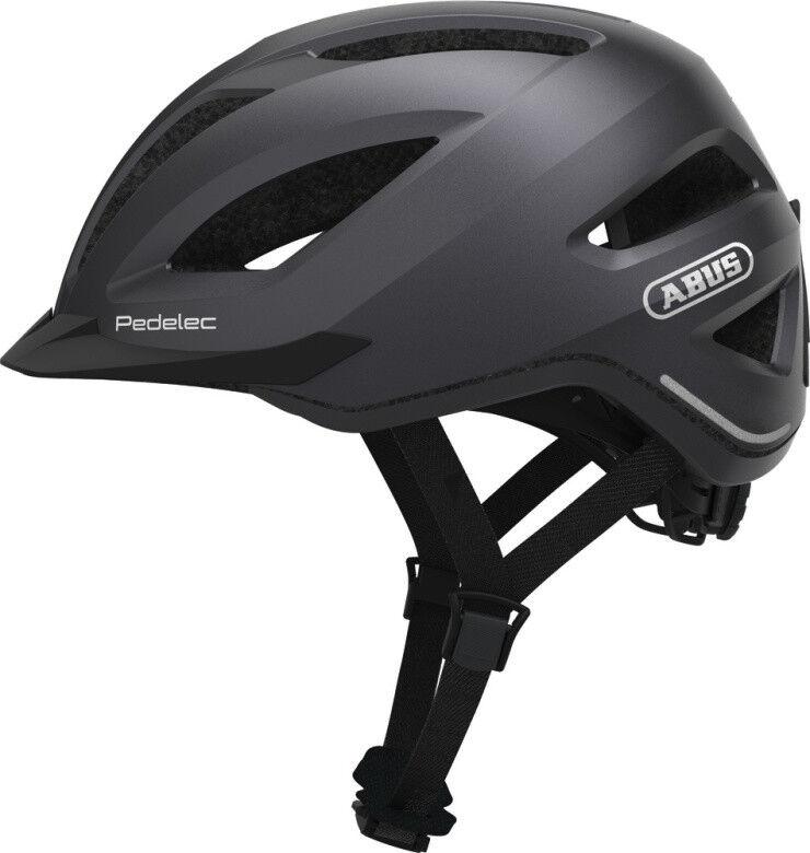 Abus City Touren E-Bike Fahrradhelm PEDELEC 1.1 titan Gr.L  | Produktqualität