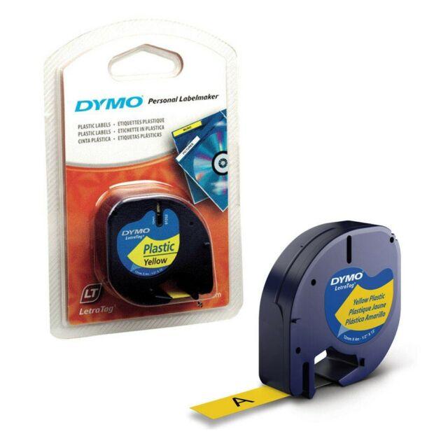 DYMO Beschriftungsband 91222 schwarz auf gelb 12 mm