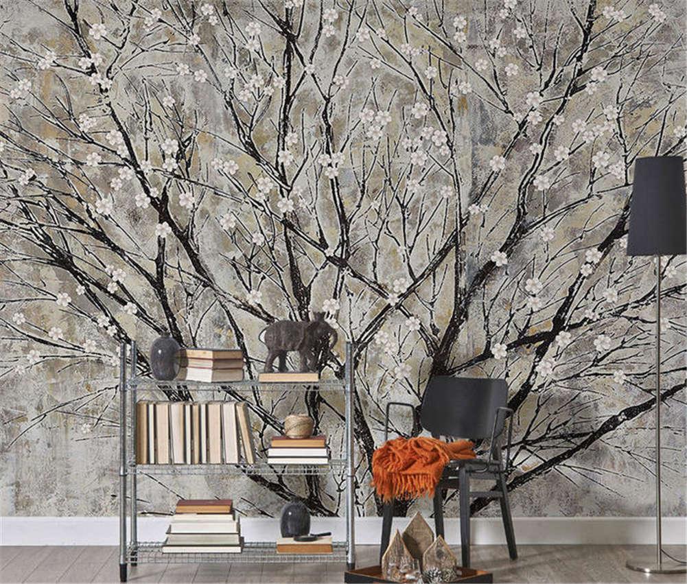 Ethnic Loyal Tree 3D Full Wall Mural Photo Wallpaper Printing Home Kids Decor