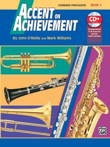 Combined Percussion Book 1 Accent On Achievement