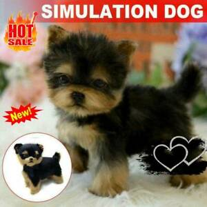 Realistic-Yorkie-Dogs-Simulation-Toys-Puppy-Lifelike-Stuffeds-Companion-Pet-Toys