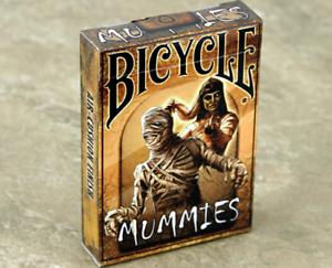 2019 DernièRe Conception Carte Da Gioco Bicycle Mummies,poker Size Les Consommateurs D'Abord
