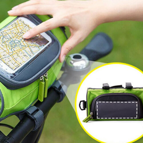 Bicycle Bike Waterproof Handlebar Riding Package Bag Pouch Holder For Phone