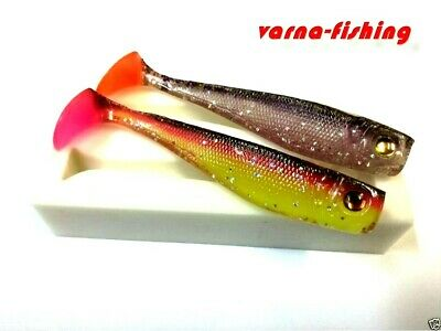 9.5 cm 3.7 inch Mold for Soft Plastic Lure with a dent for a round jig head