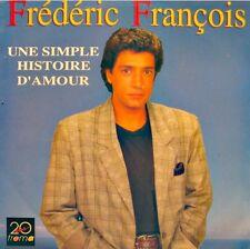 ++FREDERIC FRANÇOIS une simple histoire d'amour/tendrement SP 1989 TREMA EX++