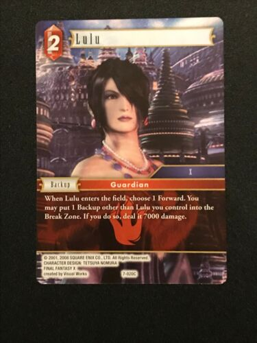 Fire Lulu 7-020C Final Fantasy TCG: Opus 7 Common
