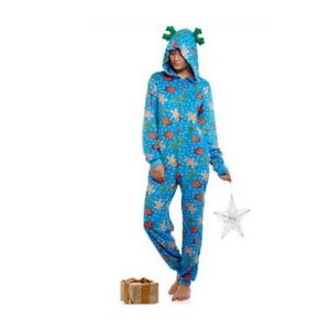 7109cd383aee NEW Women s One-Piece Critter Hooded Pajamas Union Costume ...