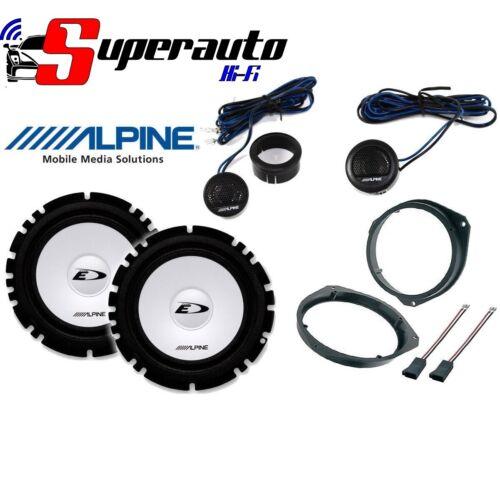 Altoparlanti Alpine Kit 4 Casse per Fiat Grande Punto Anteriore woofer auto