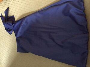 Spotlight-Warehouse-Size-10-Lilac-Satin-One-Shoulder-Dress-Worn-Once