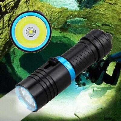 Mini L2 LED Diving Flashlight Waterproof 80m 262ft Scuba Underwater Torch 1 Mode