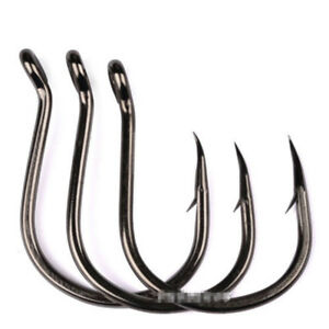 100pc-set-1-0-6-0-Carbon-Steel-Sharpened-Kudako-Power-Jigging-Single-Hook-Tackle